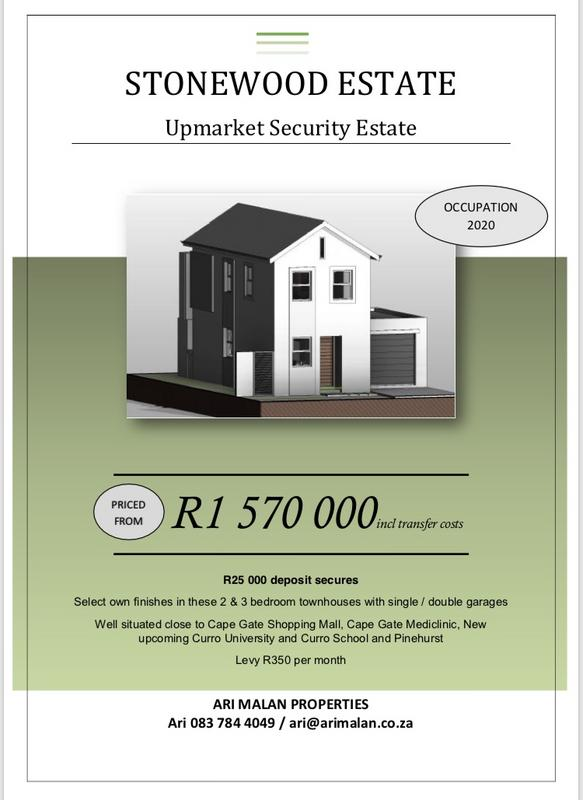 Property For Sale in Stonewood Security Estate, Kraaifontein 8